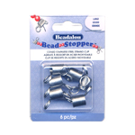 Bead Stopper; 6pc / 12 x 10mm