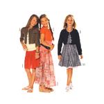 Kleit 128 - 164cm / Dress Burda 9514