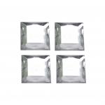 Ruudukujulised, lapikud, tahulised dekoratiivkivid 16mm, 4tk