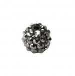 Vahedetail/pärl klaaskristallidega erinevate ehete valmistamiseks 14mm