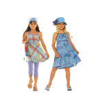 Kleit 122 - 152cm / Dress/ Burda 9608