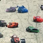 Pimendav kardinakangas multifilmi `Autod` teemaline, Disney Pixar `Cars` 150cm, 32410-06