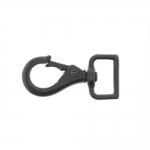 Swivel hook; swivel latch; snap hook, 43 x 20 mm, for belt max 15 mm