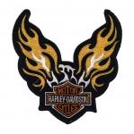 Triigitav Aplikatsioon; Harley Davidson 15cm