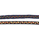 Rahvusliku ornamendiga kirju pael, 10 mm