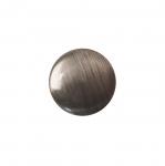 Metallilaadsest plastikust, kannaga nööp 12mm, 20L