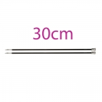 Single Pointed 30cm Knitting Needles
