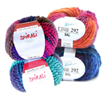 Semisynthetic Knitting Yarns