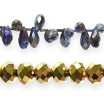Kristallilised klaashelmed / Crystal Imitation Glass Beads