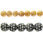 Beads with Rhinestones