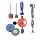 Drills, Burs, Abrasives, Buffs, Brushes