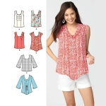 Sewing Patterns, Paches for Women Tops, Blouses, Shirts