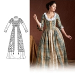 Historical Costumes Sewing Patterns, Paches