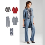 Coordinates, Pansuits, Suits Sewing Patterns, Paches
