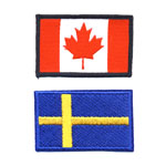 Flags & National Patches