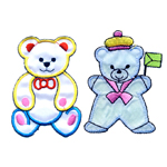 Bear & Teddy Bear Patches