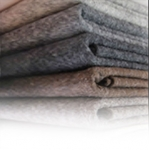 Wool and wool blend fabrics