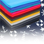 Thin cotton jersey fabric