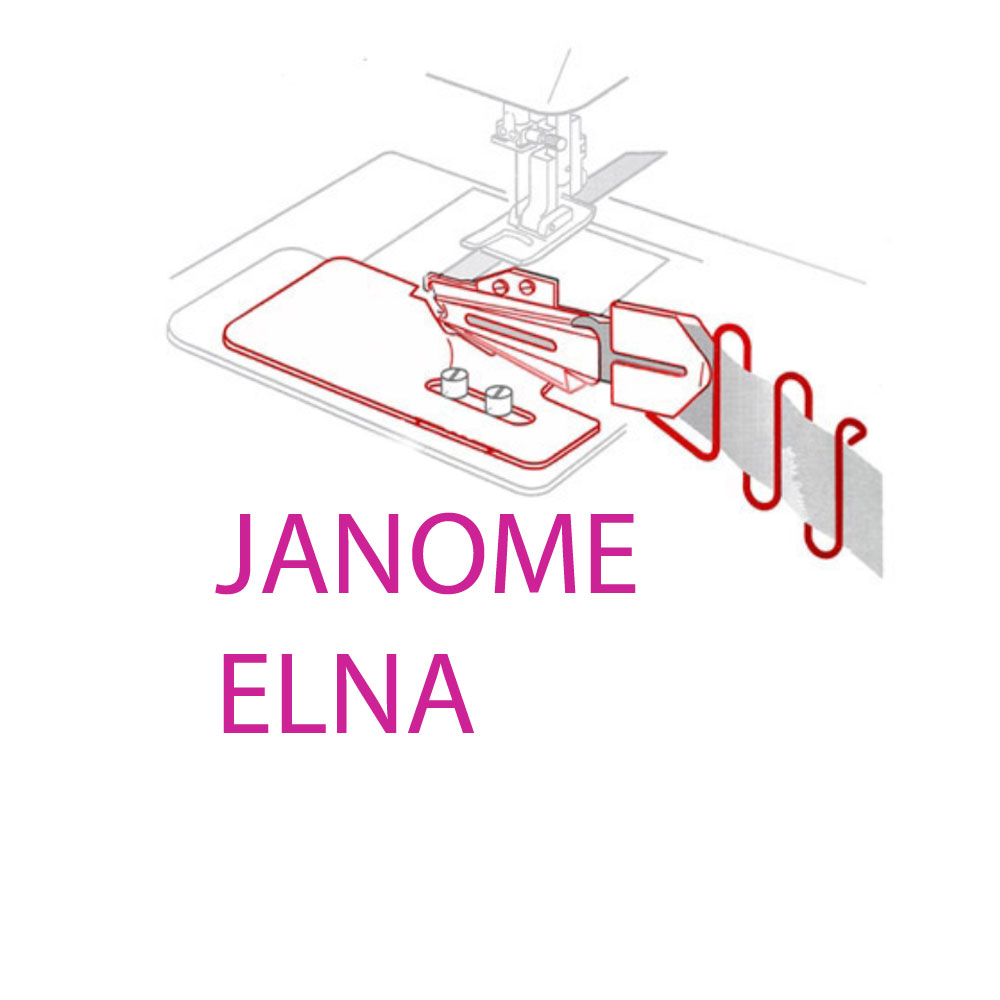 JANOME and ELNA CoverStitch, Coverlock Feet & Equipment