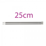 Single Pointed 25 cm Knitting Needles
