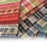 Checkered fabrics