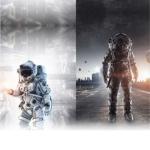Kosmos ja robotid kangastel