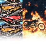 Car and motorcycle fabrics
