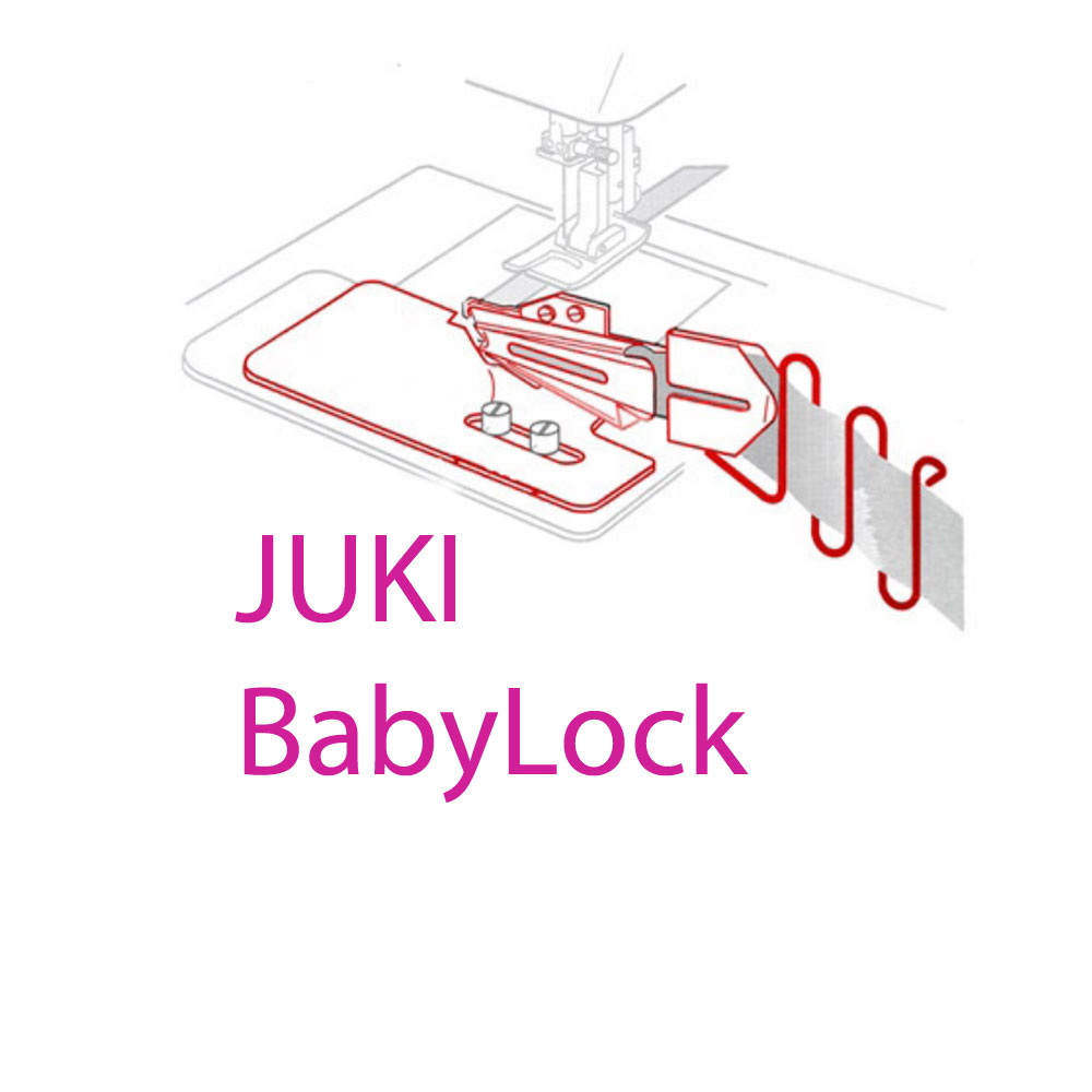 JUKI and BabyLock CoverStitch Machine Feet & Equipment