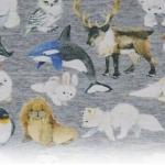 Ткани на тему животных