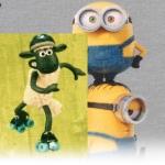 Animation-themed fabrics