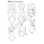 Women`s Tunics, Sizes: R5 (14-16-18-20-22), Simplicity Pattern #1064