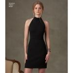 Kleit ja seelik seljataguse variatsioonidega, Simplicity Pattern #8330