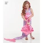 Laste, tüdrukute ja naiste kostüüm, suurused: A (kõik suurused), Simplicity Pattern #8728