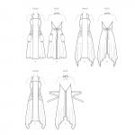 Naiste põlled, suurused: XS-S-M-L-XL, Simplicity Pattern #S8970
