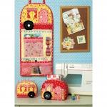 Vintage Trailer Pin Cushion, Storage Box and Organizer, Kwik Sew K0219