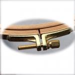 Klassikalised puidust tikkimisrõngad, Nurge #100 Tugev ja kindel pronkskinnis