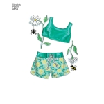 46 cm (18 inch) Doll Clothes, Simplicity Pattern #4654