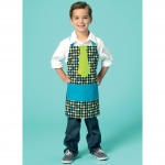 Adults/Kids` Aprons, Kwik Sew K0209