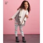 Child and Girls Sportswear, Simplicity Pattern #8807