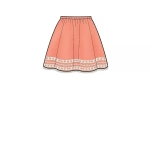 Children`s, Girls`, and Dolls` Skirts, Simplicity Pattern #S8961