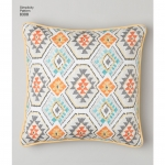 Pillows, Sizes: OS (ONE SIZE), Simplicity Pattern #8308