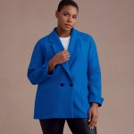 Naiste ja Petite-naiste raglaanõlgadega jakid, Simplicity Pattern #S8955