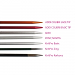Double Pointed Knitting Needles, 5 pcs/set, length 40 cm, ADDI 201-7 (Germany)
