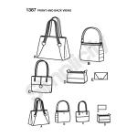 Kotid erinevates mõõtudes, Simplicity Pattern #1387