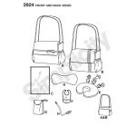 Baby Care Accessories, Sizes: OS (ONE SIZE), Simplicity Pattern #2924