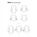 Naiste topid, Simplicity Pattern #S8920