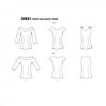 Naiste topid, Simplicity Pattern #S8884