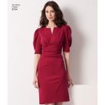 Women's / Plus SizeAmazing Fit Dress, Simplicity Pattern #8734