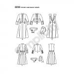 Meeste Cosplay kostüüm lõiked, suurused: AA (38-40-42-44), Simplicity Pattern #8235