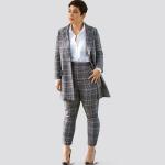 Naiste ja väikesekasvuliste Pluss-suuruses naistele Mimi G Style mantel ja püksid, Simplicity Pattern #8749